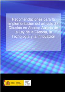 portada_recomendaciones_acceso_abierto_fecyt