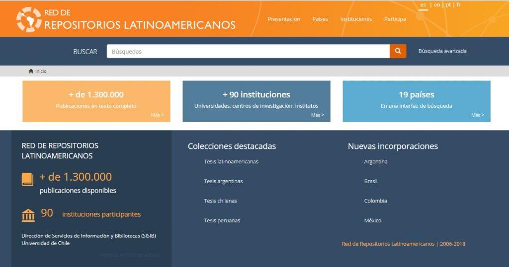 Portal de Repositorios Latinoamericanos