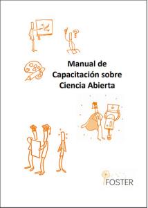Cubierta del Manual de Capacitación de Ciencia Abierta